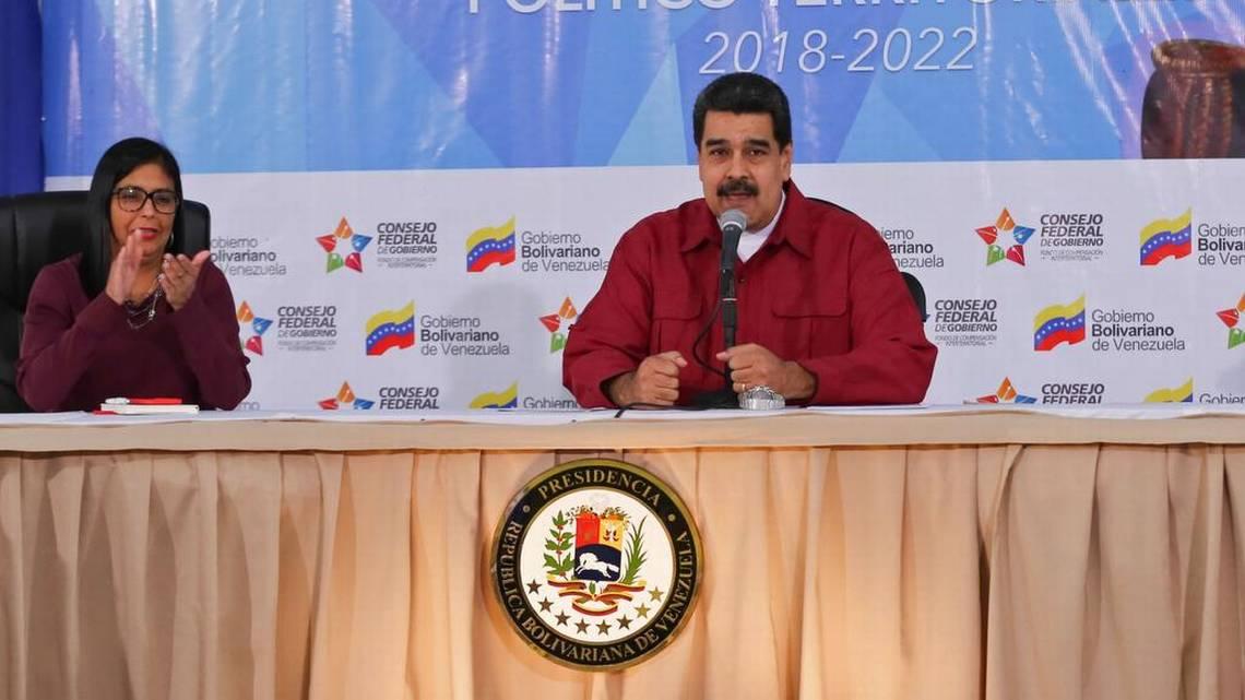 Maduro ordena 'tolerancia cero' con terroristas en Venezuela