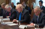 Gracias a Dios por Donald Trump: oración en reunión en la Casa Blanca