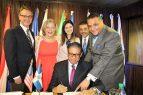 INPOSDOM y correo de los EEEUU firman acuerdo cooperación tecnológica