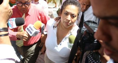 Imponen garantía económica a domésticas de Marlin Martínez