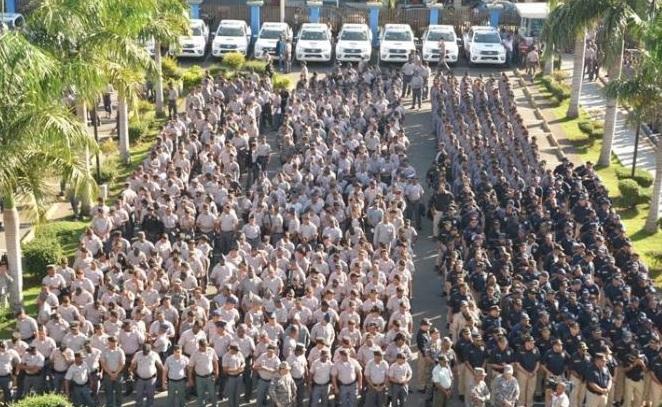 20 mil policías serán desplegados a partir de hoy en distintos puntos RD