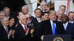 """EE.UU: Trump declara """"rompimos todos los récords"""" con reforma fiscal"""