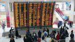 Temporal de nieve y fuertes vientos obliga a cancelar vuelos en Europa