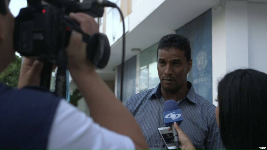 Delson Guarate huyó de Venezuela por la frontera con Colombia