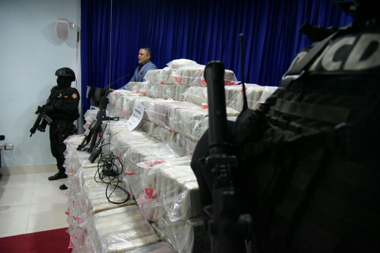 Ahora 394 paquetes en el puerto multimodal Caucedo — Ocupan más drogas