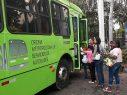OMSA transporta niños a tarde infantil en el Jardín Botánico