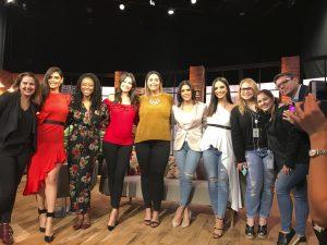 Glency Feliz participa en foro sobre la mujer latina de Univisión