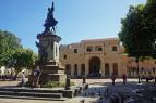 Controversial rediseño del parque Colón