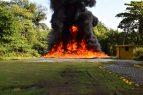 Incineran más de dos toneladas de cocaína decomisadas en SD y LR
