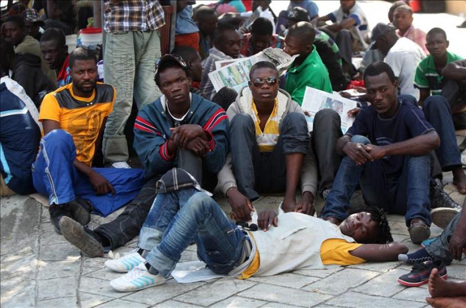Haitianos protestan contra insultos racistas de Trump