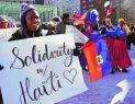 BOSTON: Haitianos protestan por las recientes declaraciones de Trump