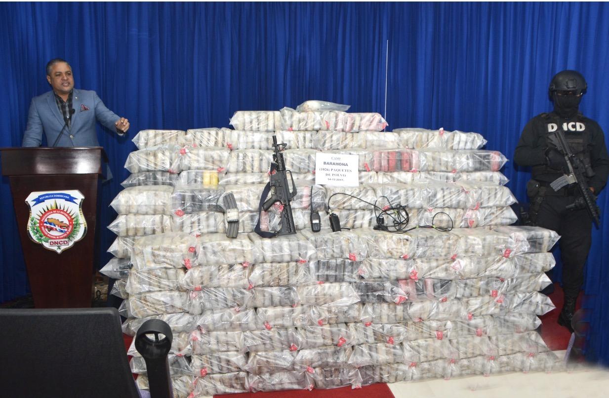 DNCD ocupa 1502 paquetes de droga en el Puerto Sans Souci