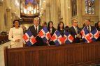 Primera Dama y Cónsul de la RD participan en misa a Virgen