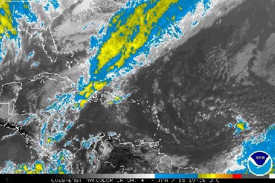 Vaguada y sistema frontal provocará lluvias este lunes, según Meteorología
