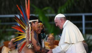 PERU: El Papa Francisco clama contra deforestación y trata de personas