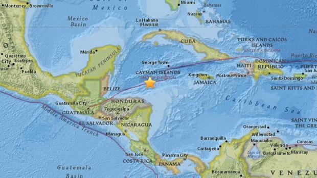 Terremoto de 7.6 remece las costas de Honduras