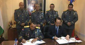 R. Dominicana y Taiwán firman acuerdo de cooperación en seguridad