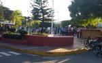 SALCEDO: Haitianos izan bandera de su país al lado de estatua de Duarte