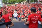 Cientos de personas realizan caminata por el corazón en SD