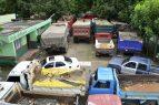 Medio Ambiente mantiene retenidos decenas camiones que extraían arena