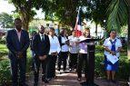 BOCA CHICA: Alcalde llama niños a respetar y honrar la bandera