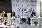 Misión FMI se reúne con directivos Consejo Nacional Empresa Privada