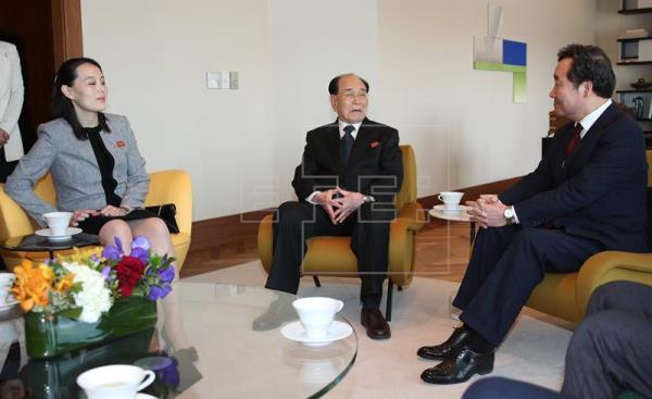 El mensaje de paz de las dos Coreas en los Juegos