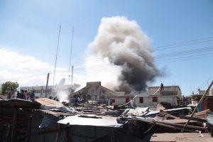 HAITI: Un incendio destruye otro mercado en ciudad Puerto Príncipe