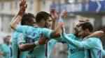 Barcelona vence al Eibar y sigue de líder en la Liga Española