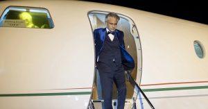 Andrea Bocelli aterriza en Punta Cana para su concierto