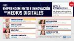 INTEC anuncia foro emprendimiento e innovación en medios digitales