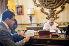 David Colladofirma acuerdo con alcalde de Guayaquil