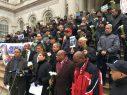 NUEVA YORK: Coalición de taxistas realiza vigilia frente a la Alcaldía