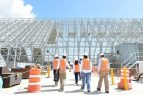 Directivos del BID visitaron la termoeléctrica de Punta Catalina