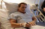 Arnold Schwarzenegger fue operado urgente del corazón