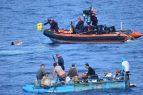 MIAMI: Guardia Costera repatría a 10 cubanos interceptados en el mar