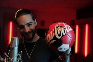 Maluma será voz Himno Coca Cola del Mundial de Fútbol
