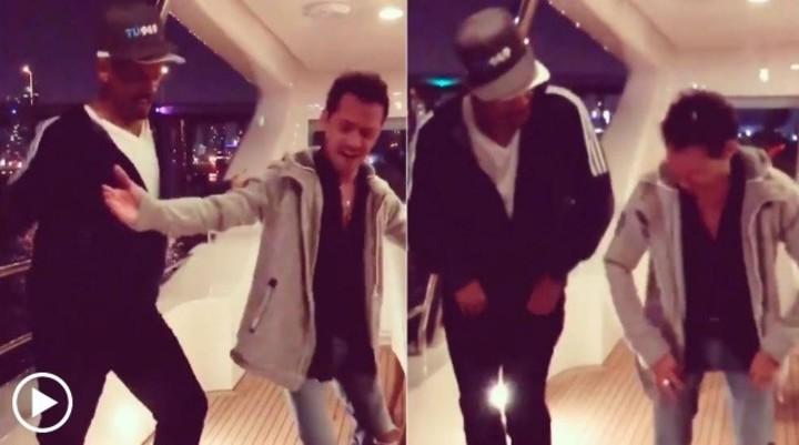 Will Smith y Marc Anthony encienden las redes con un divertido baile