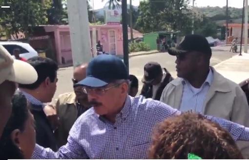 DAJABON: Presidente Danilo Medina supervisa Fortaleza Restauración