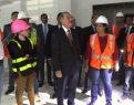 Medina supervisa los trabajos de construcción CAID S. Domingo Este