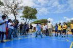 Alcalde Collado inaugura actividades deportivas y recreativas en Güibia