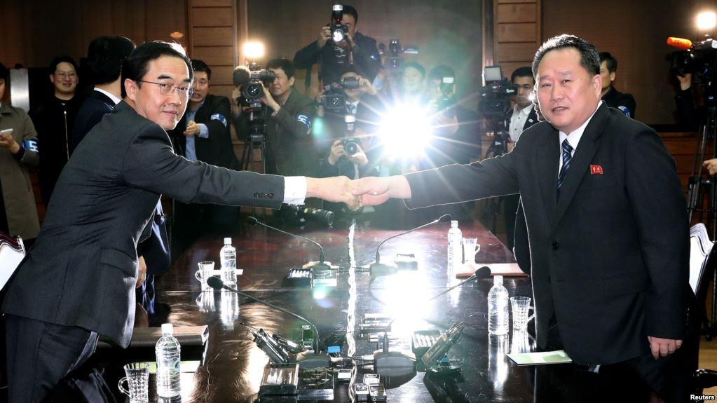 Las dos Coreas se reunirán en cumbre el 27 de abril