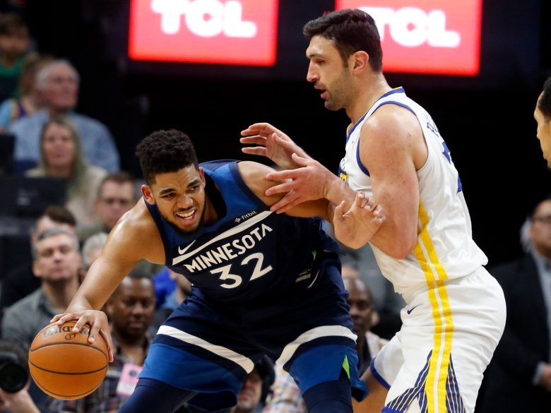 Karl Towns guía triunfo Minnesota sobre Warriors