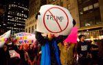 EEUU: Cientos personas protestan contra política migratoria de Trump