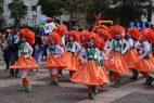 Vistosas comparsas participaron en la Muestra Carnaval Infantil 2018
