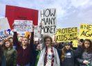 Estudiantes en Nueva York también alzaron su voz contra las armas