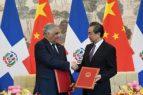 China sella relaciones con República Dominicana; debilita más a Taiwán