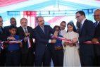 SDN: Presidente Medina inaugura una escuela básica en La Victoria