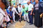 Alcalde DN inicia construcción biblioteca municipal en Gualey