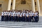 Se incrementa flujo de visitantesal Palacio de la Presidencia